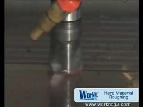 CNC - Gia công thô vật liệu cứng