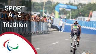 Paralympic sports a-z: triathlon