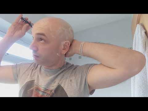 Head Shave Review of BIC SHAVE CLUB razor