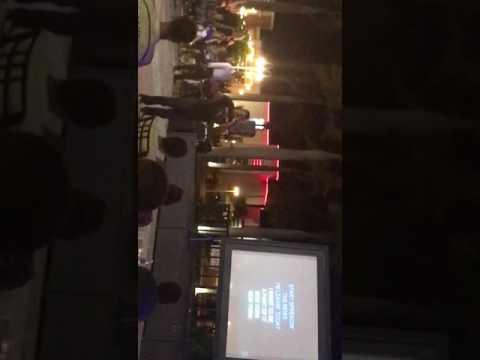 Karaoke at ocean blue