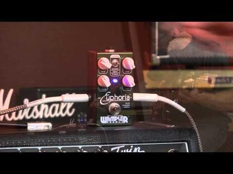 Wampler Euphoria Overdrive Pedal, John Mayer Tones