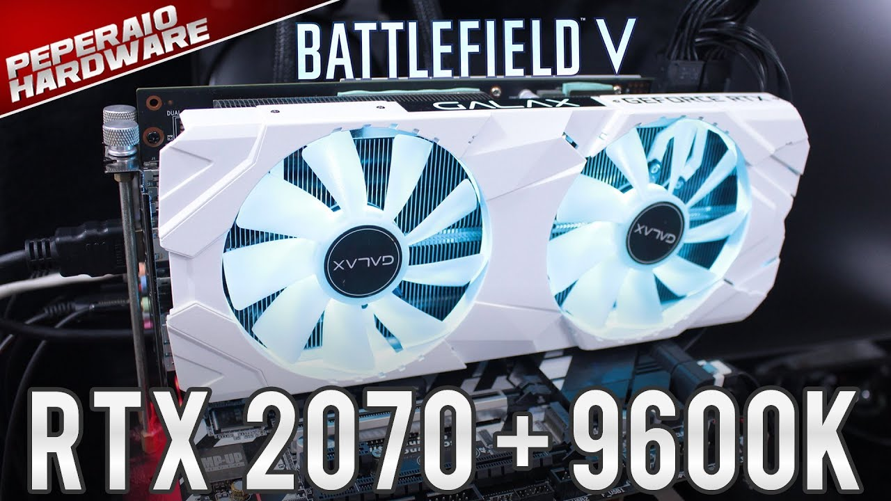 Teste BF5 Multiplayer - I5 9600K / RTX 2070 / 16GB RAM - 1080p 1440p 2160p  Ultra vs Low / Teste RTX