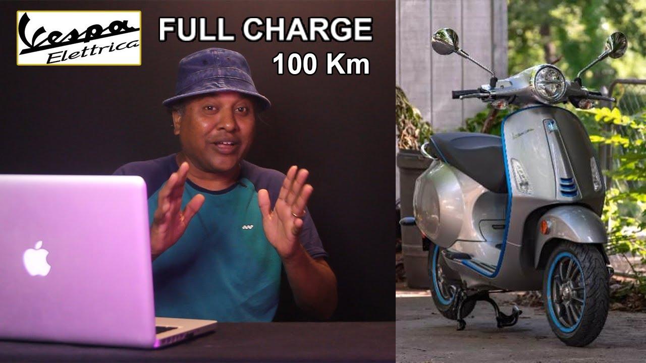 Download Vespa Electtrica Scooter || E-Wheeler || Arunai Sundar ||