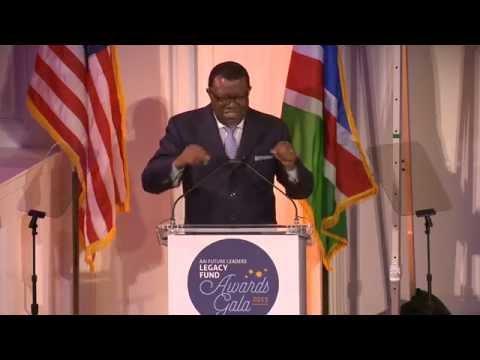 Namibian President Hage Geingob Receives AAI Lifetime Achievement Award