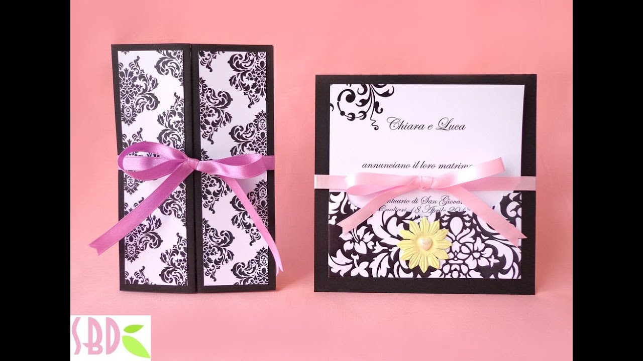 Wedding Invitations Elegance ENG Series YouTube