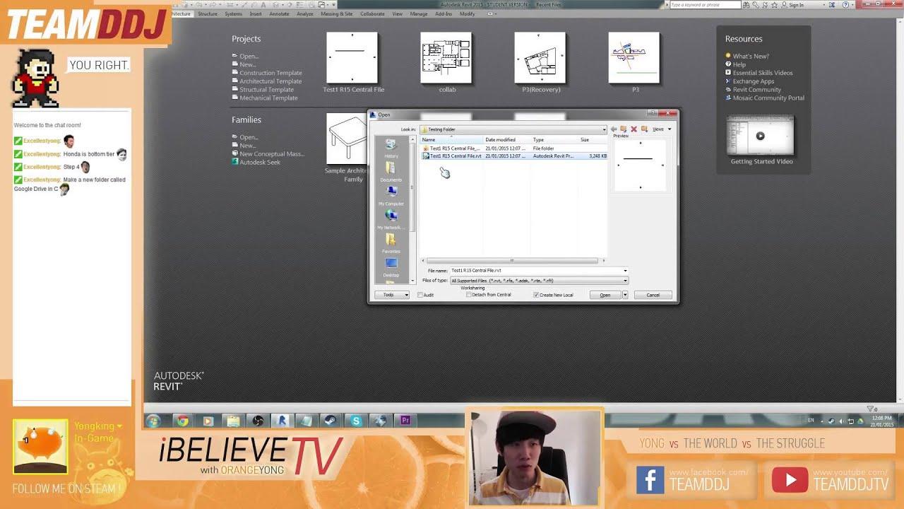 Revit Google Drive Collab - YouTube