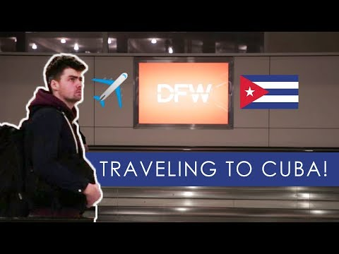 CUBA TRAVEL VLOG 1: I was the only one in the airport...