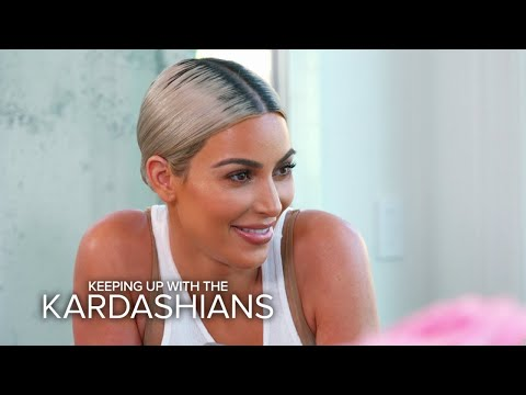 "KUWTK | Kourtney Kardashian Calls Kim an ""Evil Human Being"" | E!"