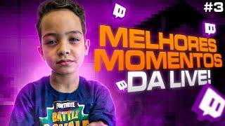 MELHORES MOMENTOS DA LIVE !! #3