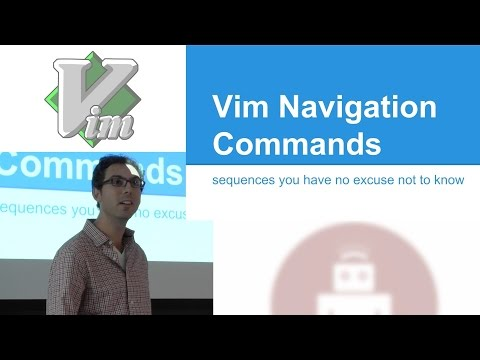 Vim Navigation Commands