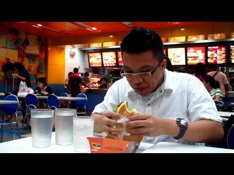 Jollibee Champ Eating Challenge (Waltermart Makati)
