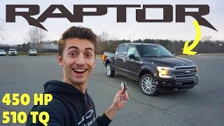 The $73k 2019 Ford F-150 Limited Has The Raptor Engine! *AND IT'S FAST*