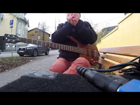 Metallica master of puppets bass cover