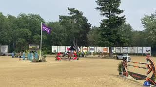 Salto Des Nauves double clear in YR nation cup Wierden (first round)