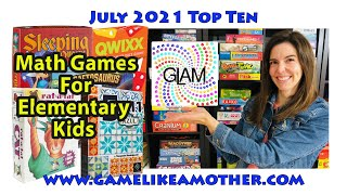 Game Like a Mother Top Ten July 2021: Math Games for Elementary Kids