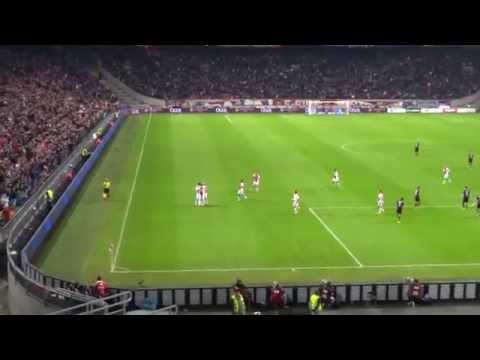Ajax - Go Ahead Eagles (26-10-2014) Goal Milik