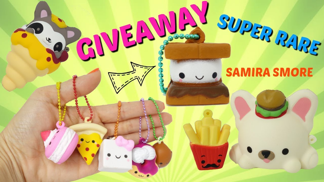 Rare Squishy Giveaway : Smooshy Mushy Surprise Pets, Bentos box, and Besties Blind Bags Giveaway Super Rare Samira ...