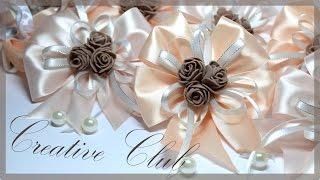 Свадебные БРАСЛЕТЫ для подружек невесты / СВОИМИ РУКАМИ