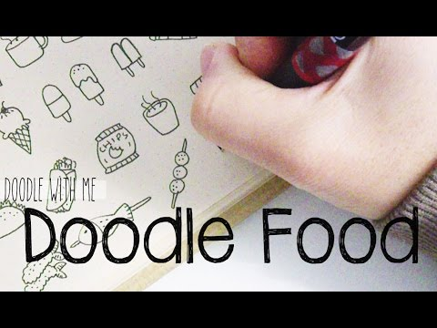 Food Doodles Doodle With Me Youtube