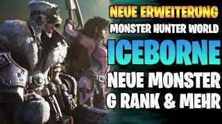 Monster Hunter World News: Iceborne NEUE ERWEITERUNG - G Rank, Neue Map, Neue Monster & mehr
