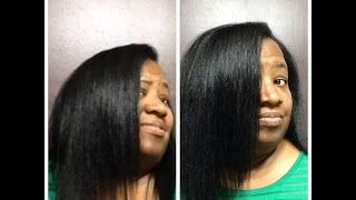 MY TRIM RESULTS, THINNING ENDS ~ October 2015 ~ Perm Relaxed Texlaxed