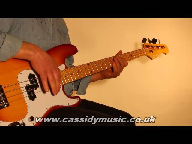 Musicradar Bass Expo 2014 : Cassidy Bluesville Series BVB351