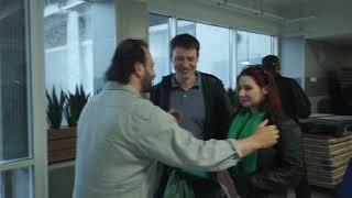 Встреча Юлии Миловановой с Ильей Авербухом и участниками шоу