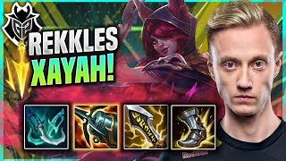 REKKLES IS INSANE WITH XAYAH! - G2 Rekkles Plays Xayah ADC vs Varus! | Patch 11.15