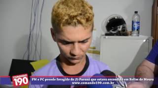 www.comando190.com.br - PM e PC prende foragido de Ji Paraná que estava escondido em Rolim de Moura