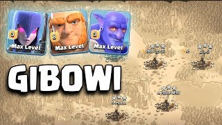 GIBOWI STRATEGY | Best  Army 3 Star Any TH11 War Bases |Clash Of Clans War