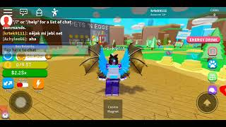 ROBLOX MOBILE magnet simulátor, road to 10M rebirths