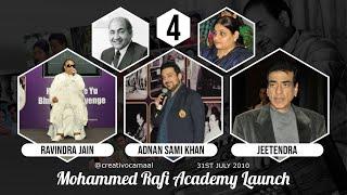 Mohammed Rafi Academy Part 4 - Ravindra Jain, Adnan Sami & Jeetendra speak