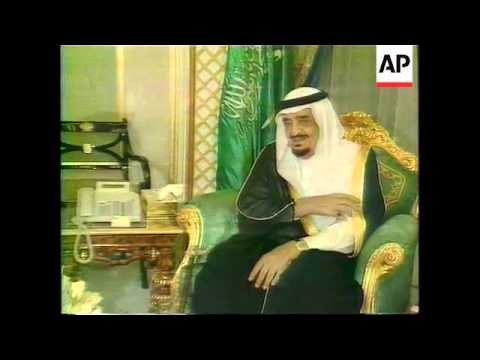 Saudi Arabia - Arafat enlists King Fahd's help