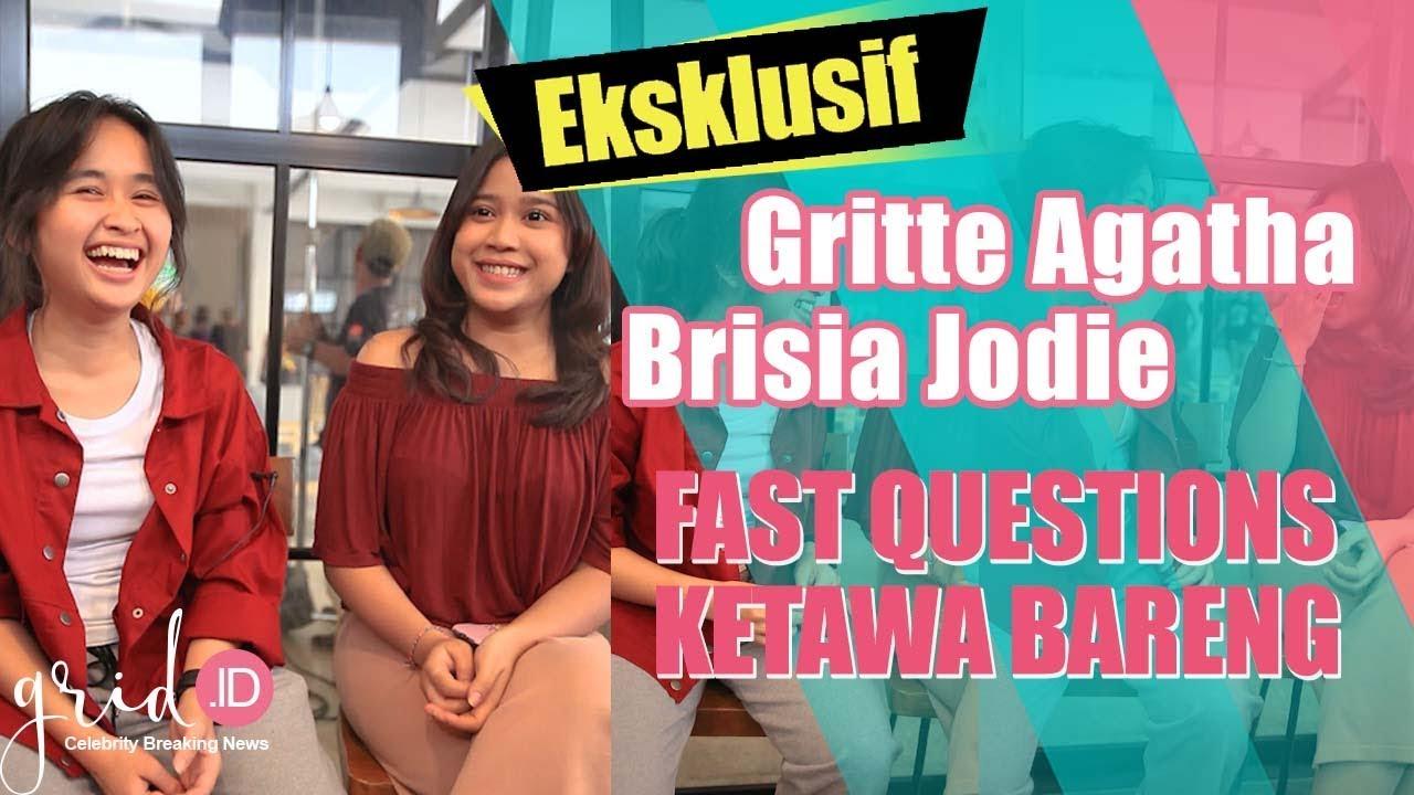 Ketawa Bareng Gritte Agatha & Brisia Jodie di Test 'Fast Questions'