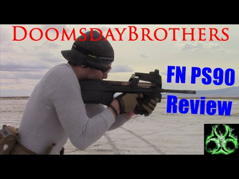 P90 - The GoldenEye 007 Destroyer - FN PS90 5.7x28mm Review
