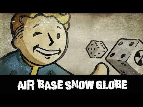 Fallout New Vegas Snow Globe Air Base