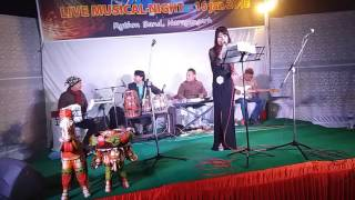 Ajeeb dastan hai yeh by parbati bhujel(RHYTHM band,narayangarh)
