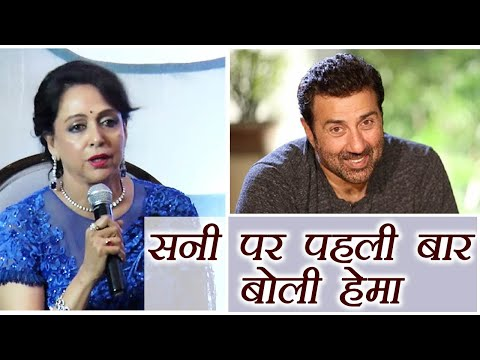 Hema Malini OPENS UP on Sunny Deol and her RELATIONSHIP; Watch Video | FilmiBeat