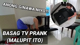 NABASAG KO TV NI MOMMY PRANK!