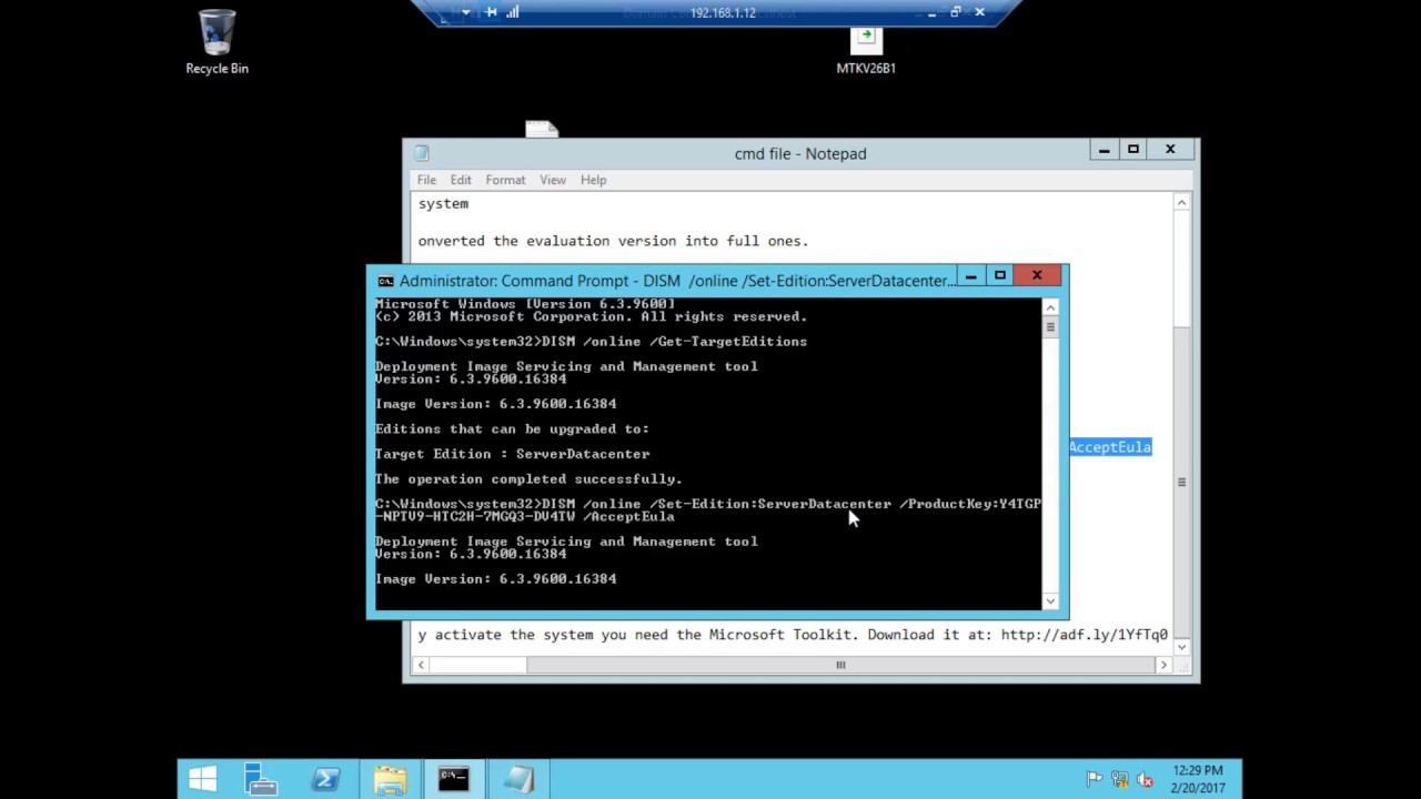 activate windows 10 cmd crack