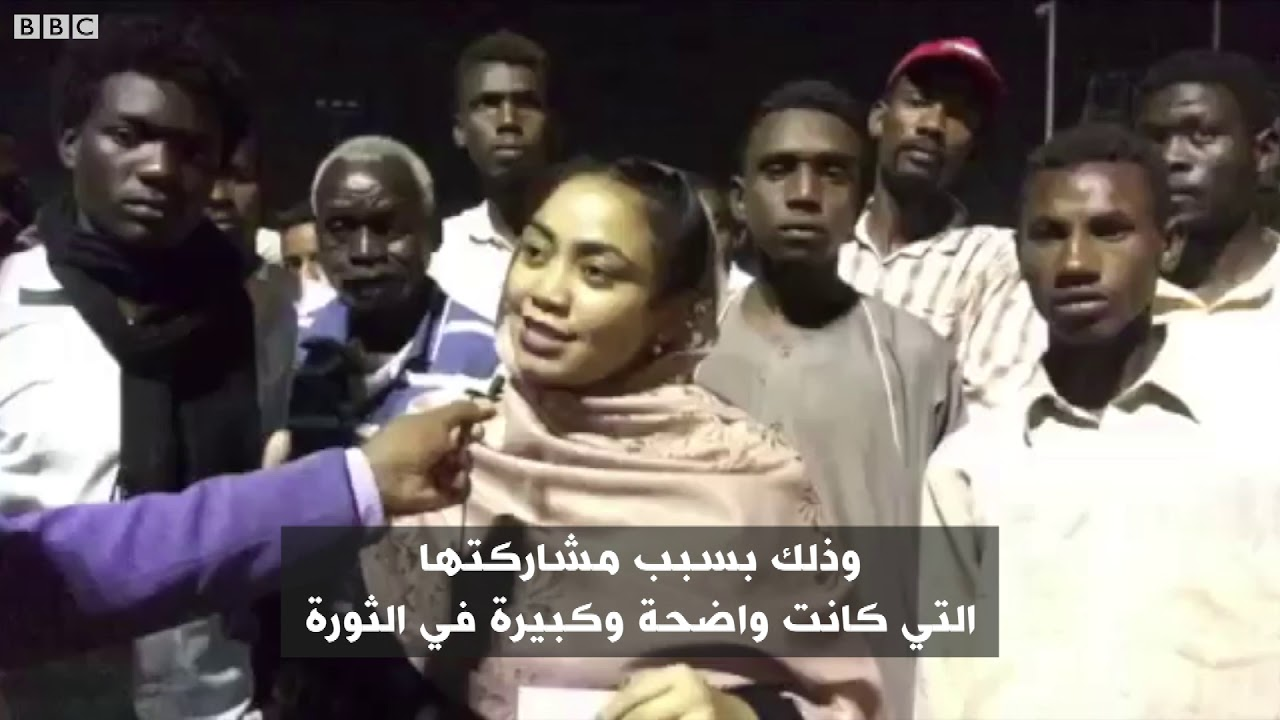 BBC عربية:أنا الشاهد: الكنداكات في ساحة الاعتصام في السودان