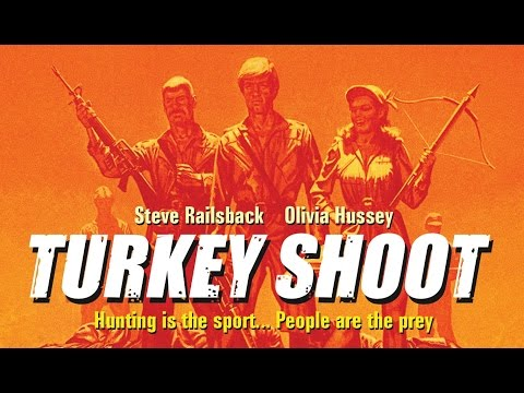 Blood Camp Thatcher aka Turkey Shoot (1982) Steve Railsback and Olivia Hussey killcount