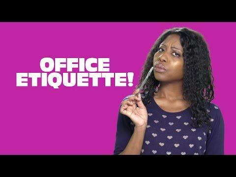Office Etiquette! Modern Manners w Amy Aniobi