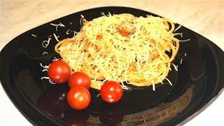 Офигенные макароны с домашней тушёнкой (околоИтальянская тема)