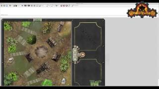 Playing Malifaux Online using VASSAL - Loading the Module and Creating a Map