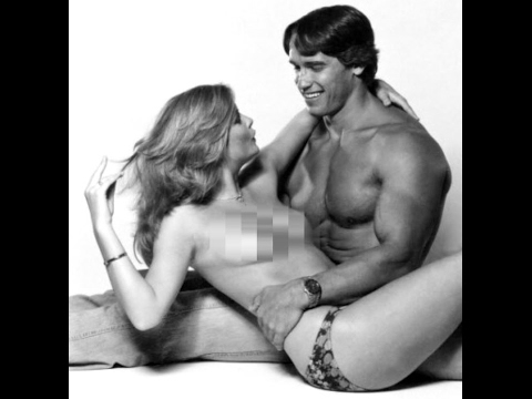 arnold schwarzenegger and nude women