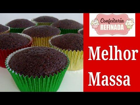Cupcake de Chocolate/ Massa úmida e saborosa #500 mil inscritos Vídeo todo dia!!!