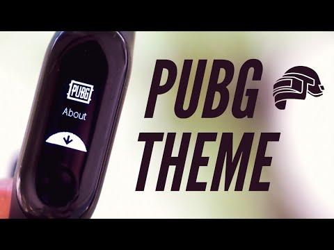 Mi Band 3   Custom Firmware   PUBG Theme - YouTube