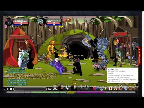 Aqw como conseguir Horc Evader Class + Troll Spellsmith class