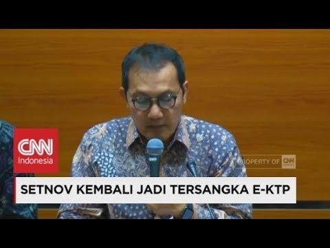 FULL: Lagi, Setya Novanto Jadi Tersangka Kasus Korupsi eKTP oleh KPK